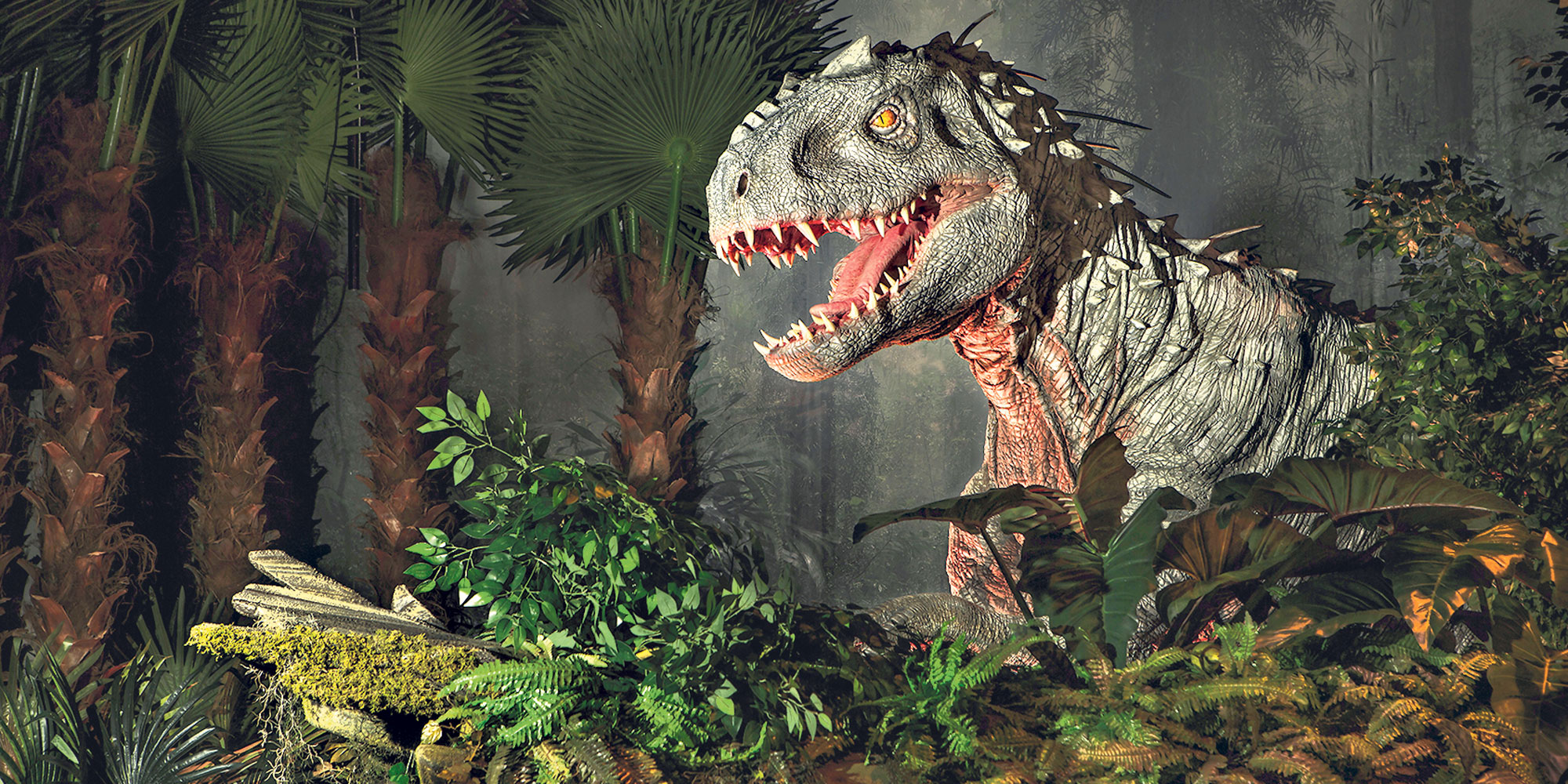 Les dinosaures de jurassic world grandeur nature au mus e - Dinosaure de jurassic park ...