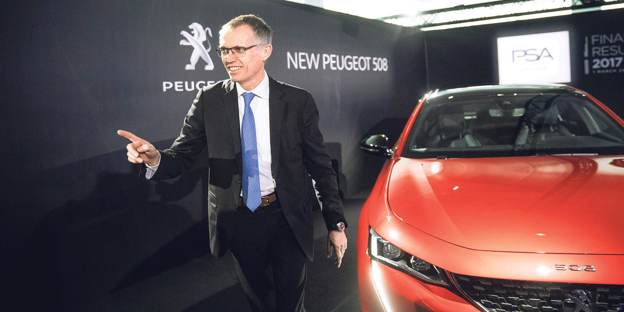 Avec la 508, Peugeot veut accélérer son retour au premier plan