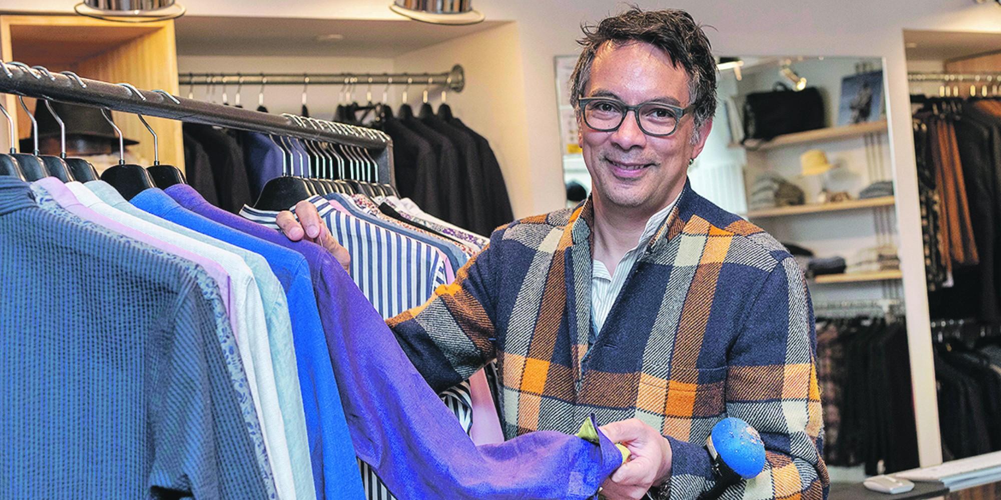 La marque de vêtements pour hommes Hollington transgresse gentiment