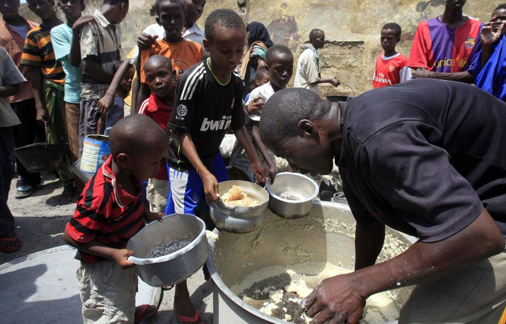 Famine : la Corne de l'Afrique en situation d'urgence