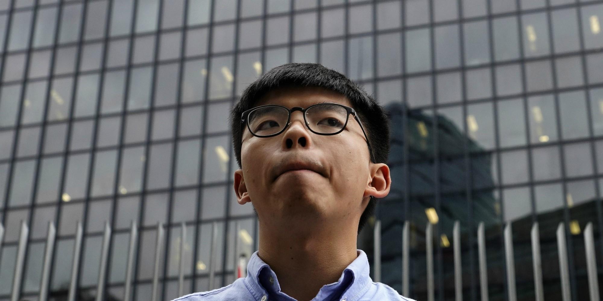 """Joshua Wong, figure du mouvement prodémocratie à Hongkong : """"Pour nous, c'est le début de la fin"""""""