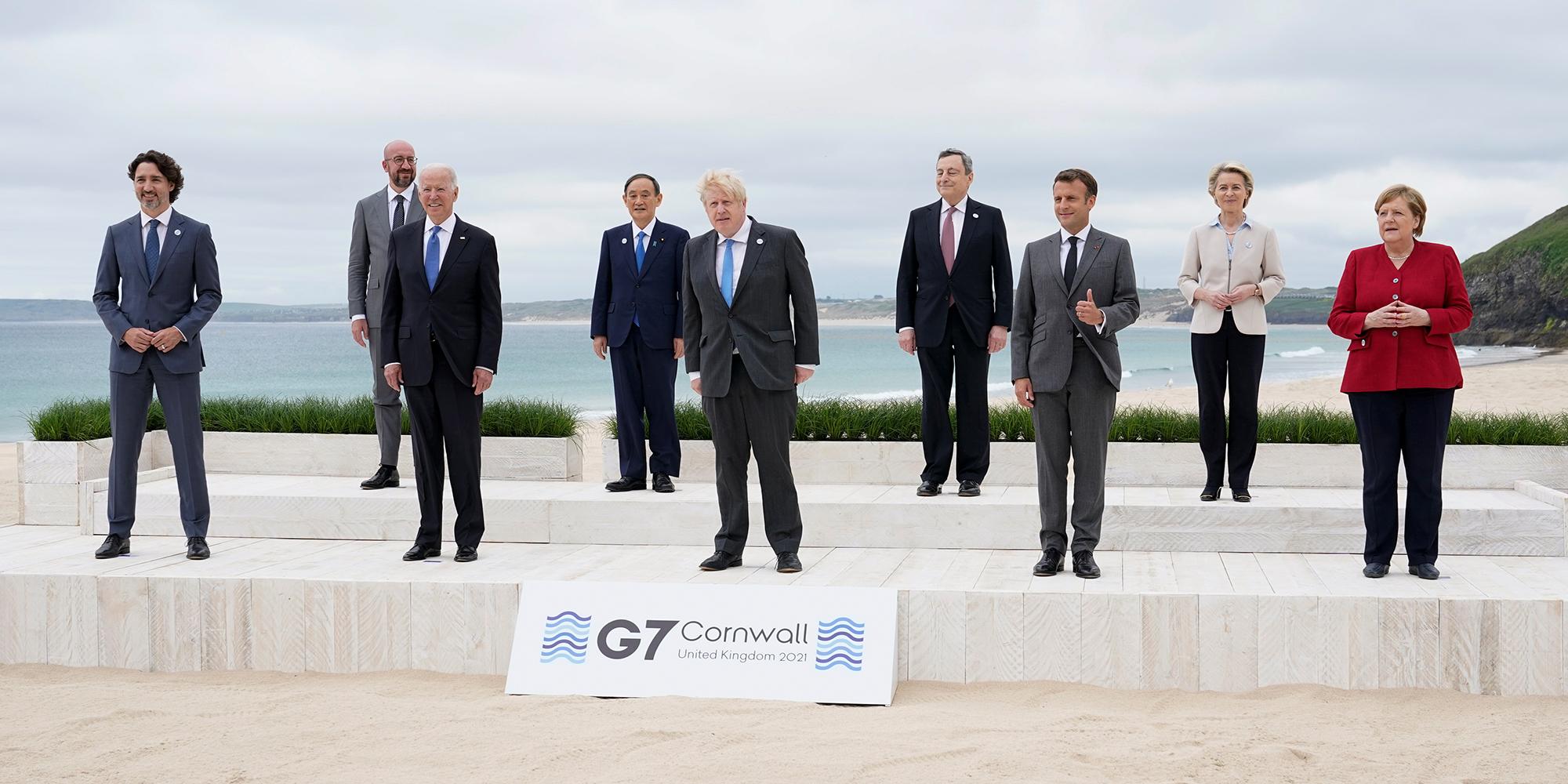 Covid-19 : le G7 prépare l'après-pandémie