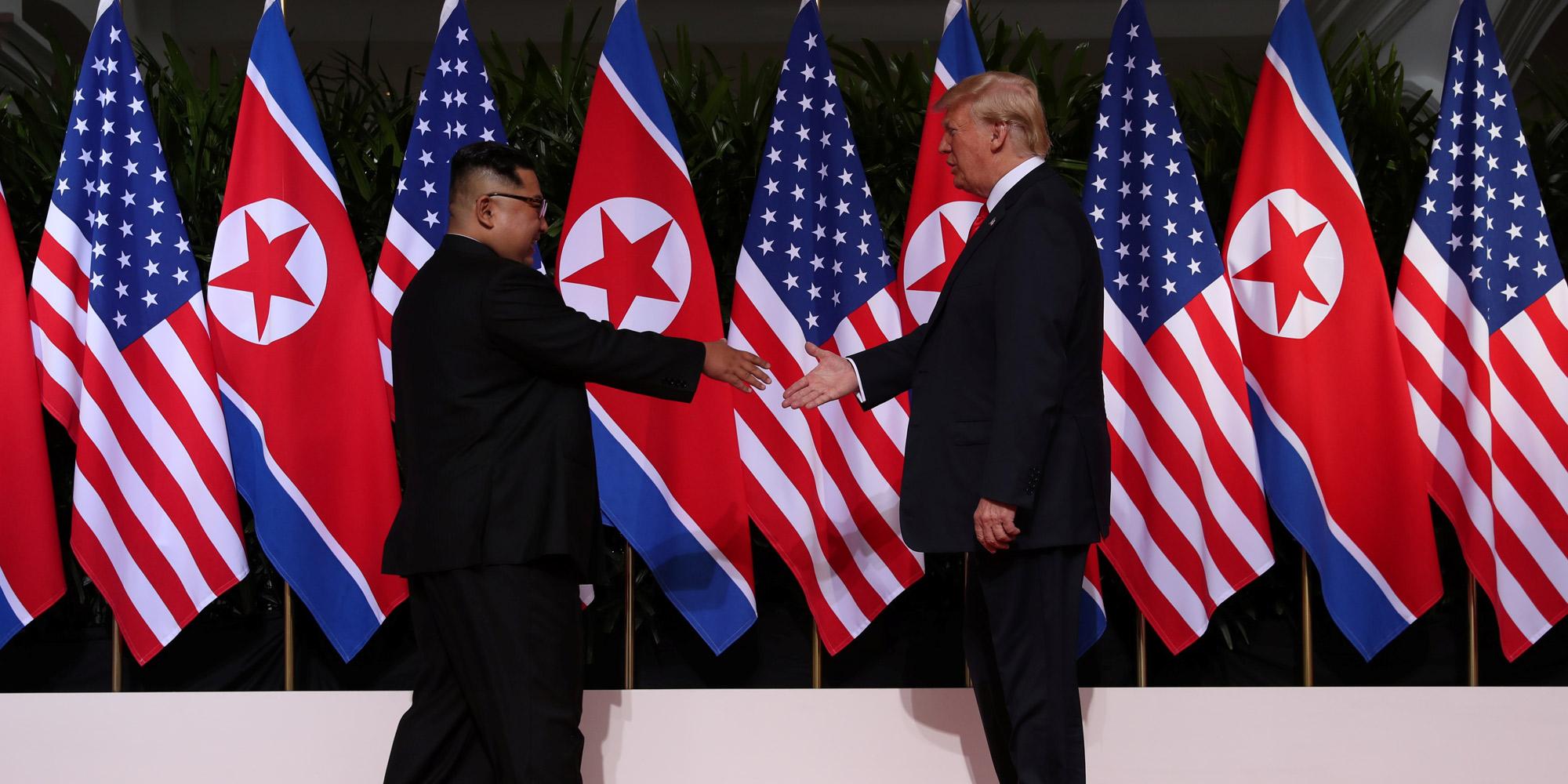 Rencontre Donald Trump/Kim Jong-un à Singapour le 12 juin