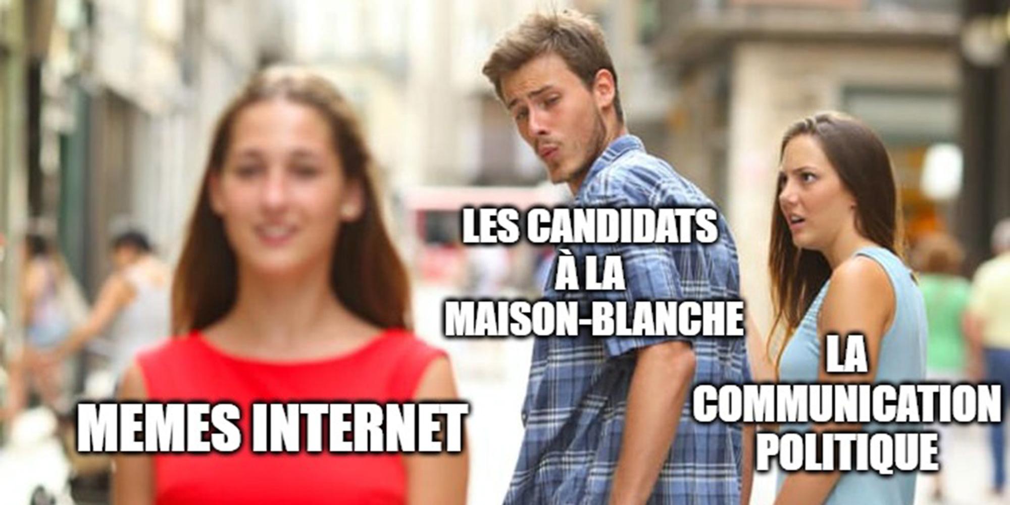 Et si la présidentielle américaine se jouait grâce à des mèmes Internet?