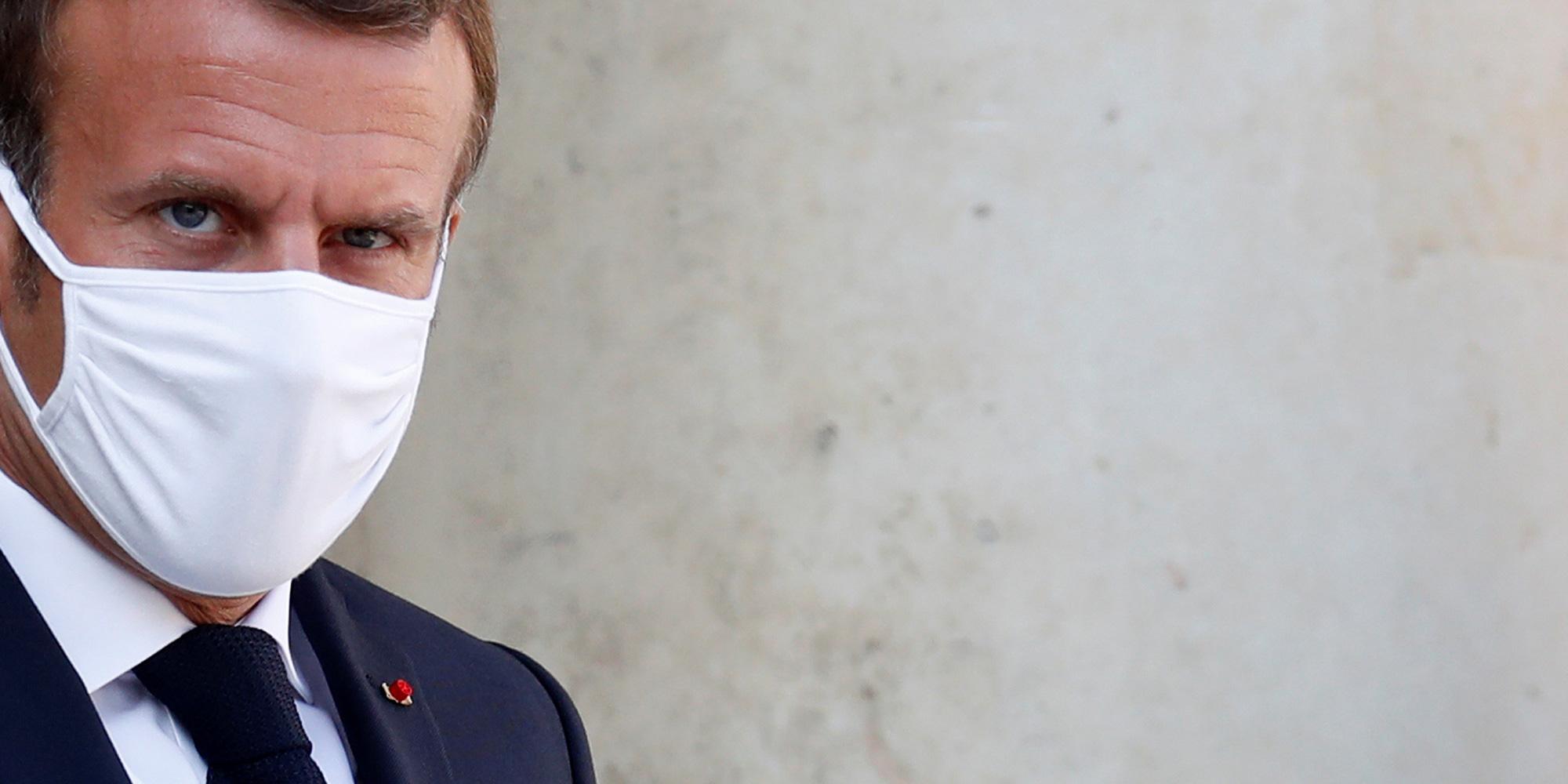 """EXCLUSIF. Emmanuel Macron sur la situation en Biélorussie : """"Il est clair que Loukachenko doit partir"""""""