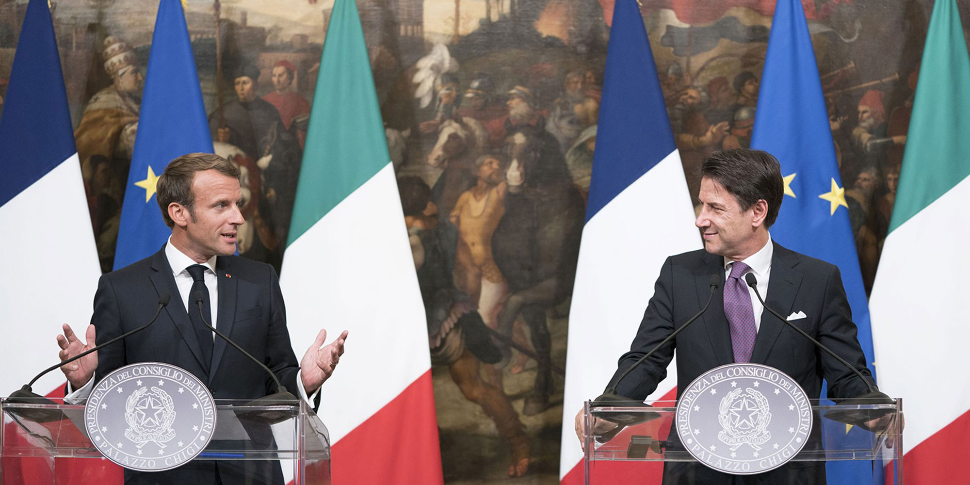 La France et l'Italie veulent se réconcilier