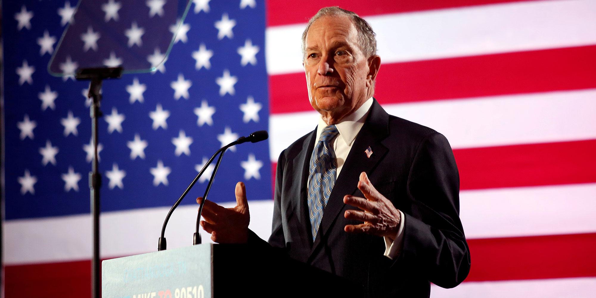 Primaires démocrates : Bloomberg va enfin débattre avec ses adversaires
