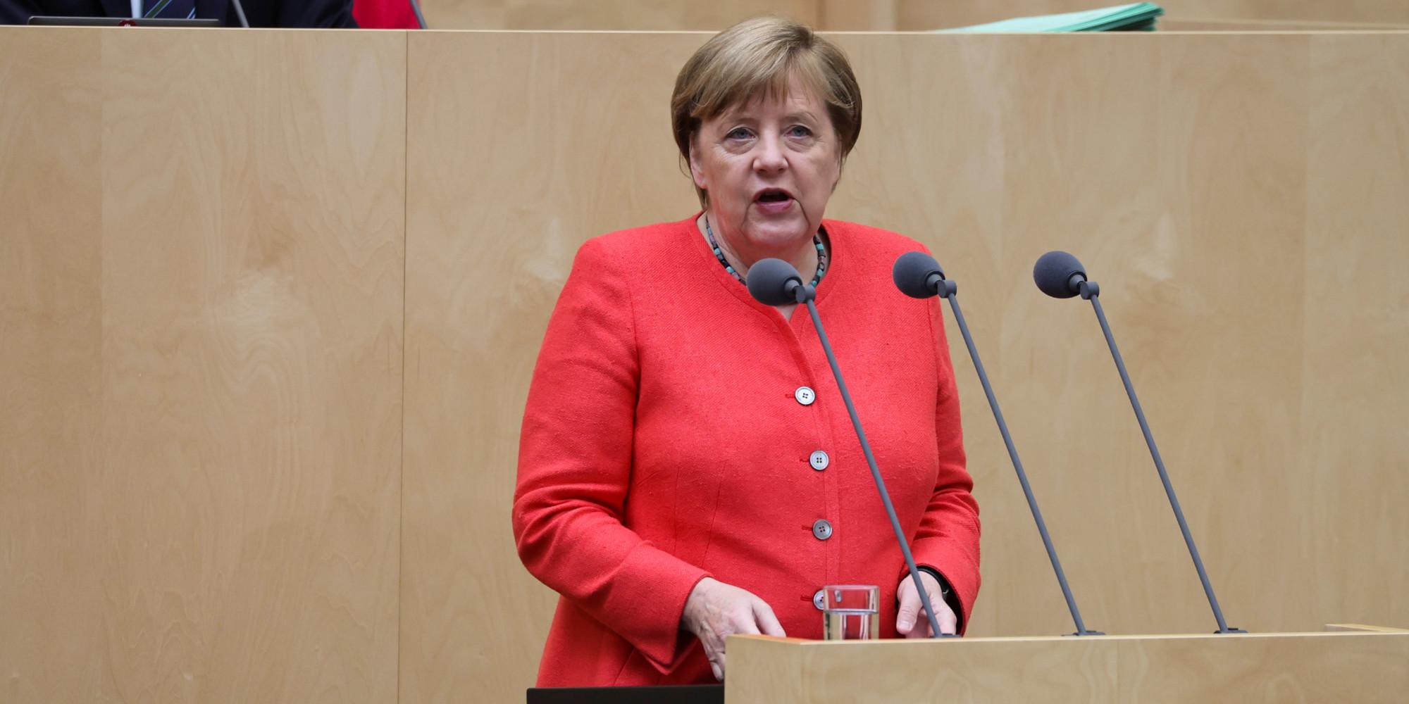 Emprunt, Green Deal, Brexit : Angela Merkel présente le programme de sa présidence de l'Union européenne