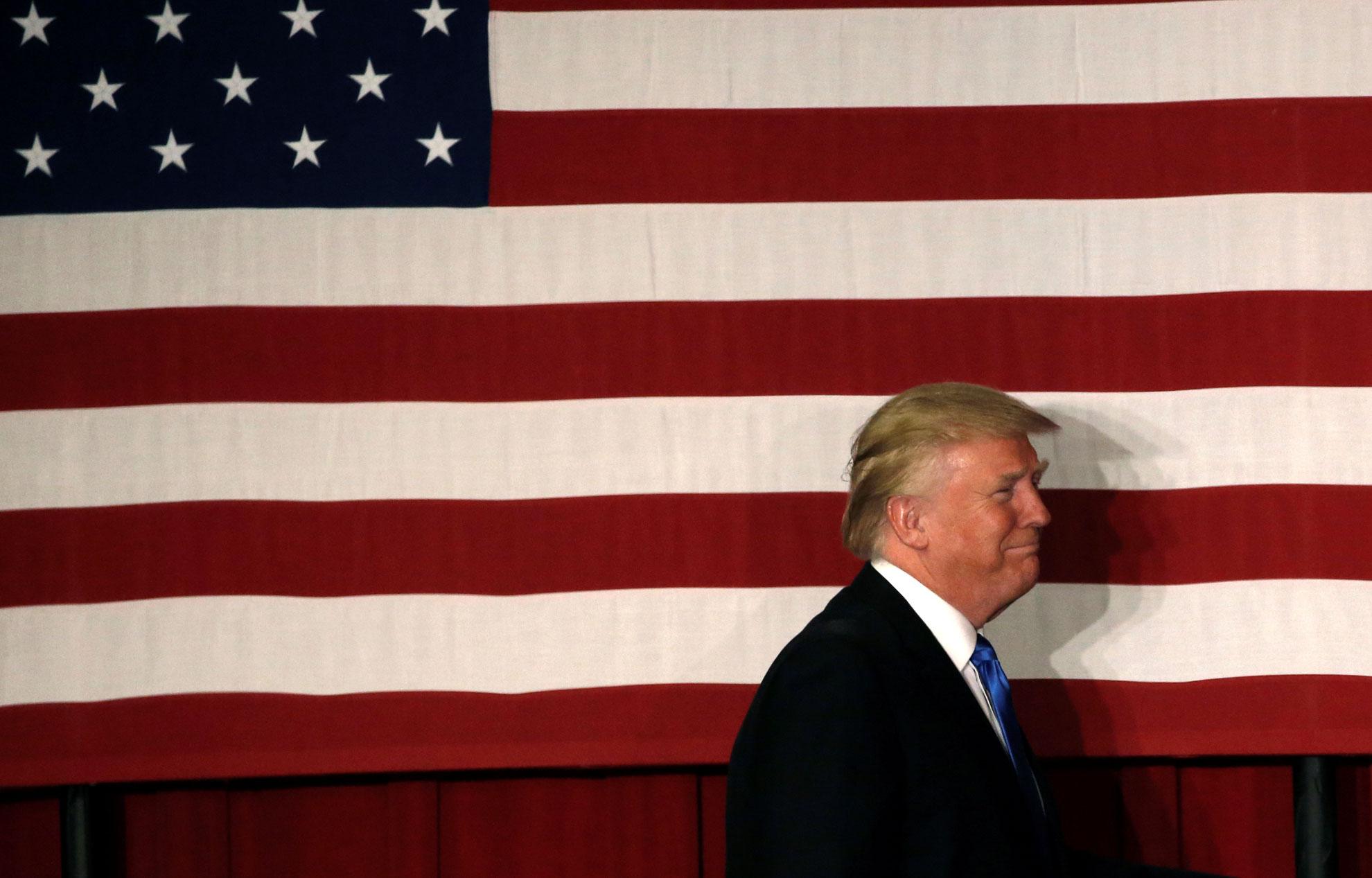 Trump Refuse De Publier Sa Declaration D Impots Une Premiere En