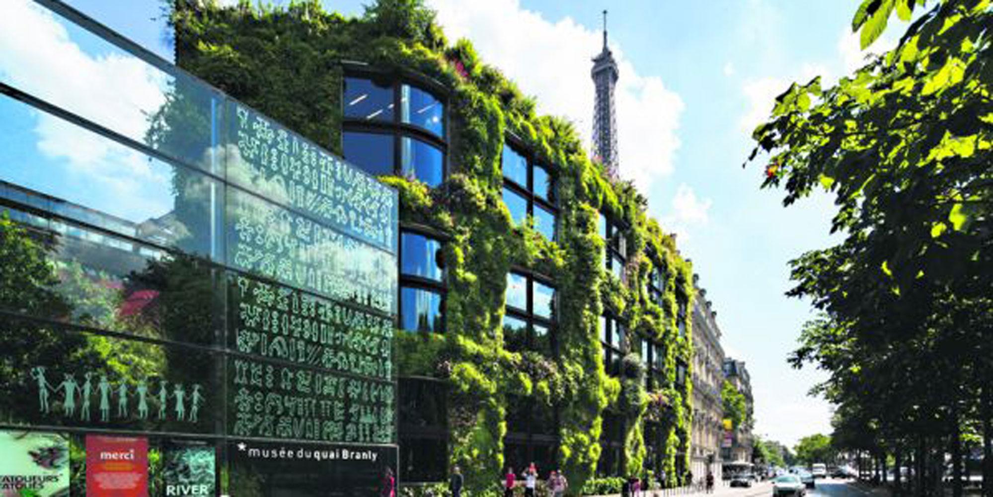 Musée du Quai Branly : et si vous parrainiez un pan de jardin vertical?