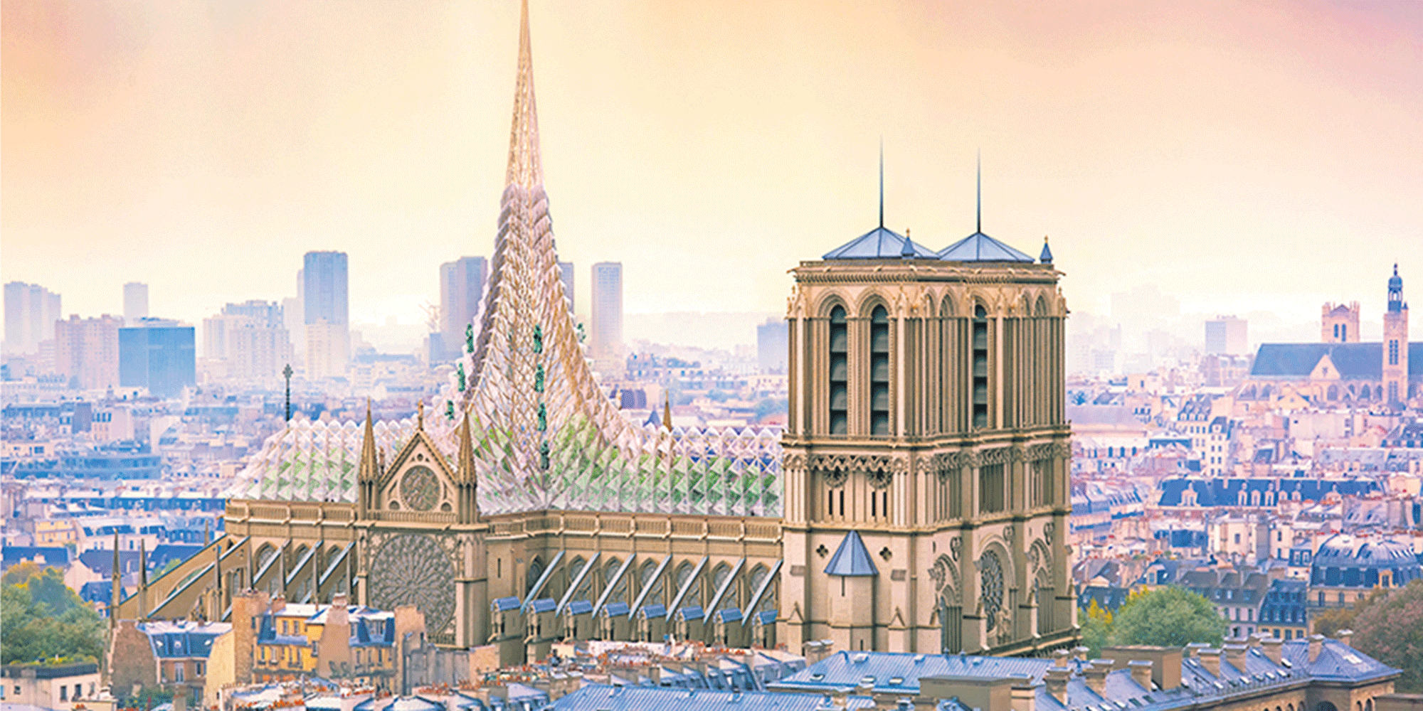 Notre Dame De Paris Le Point Sur Un Chantier Qui Divise