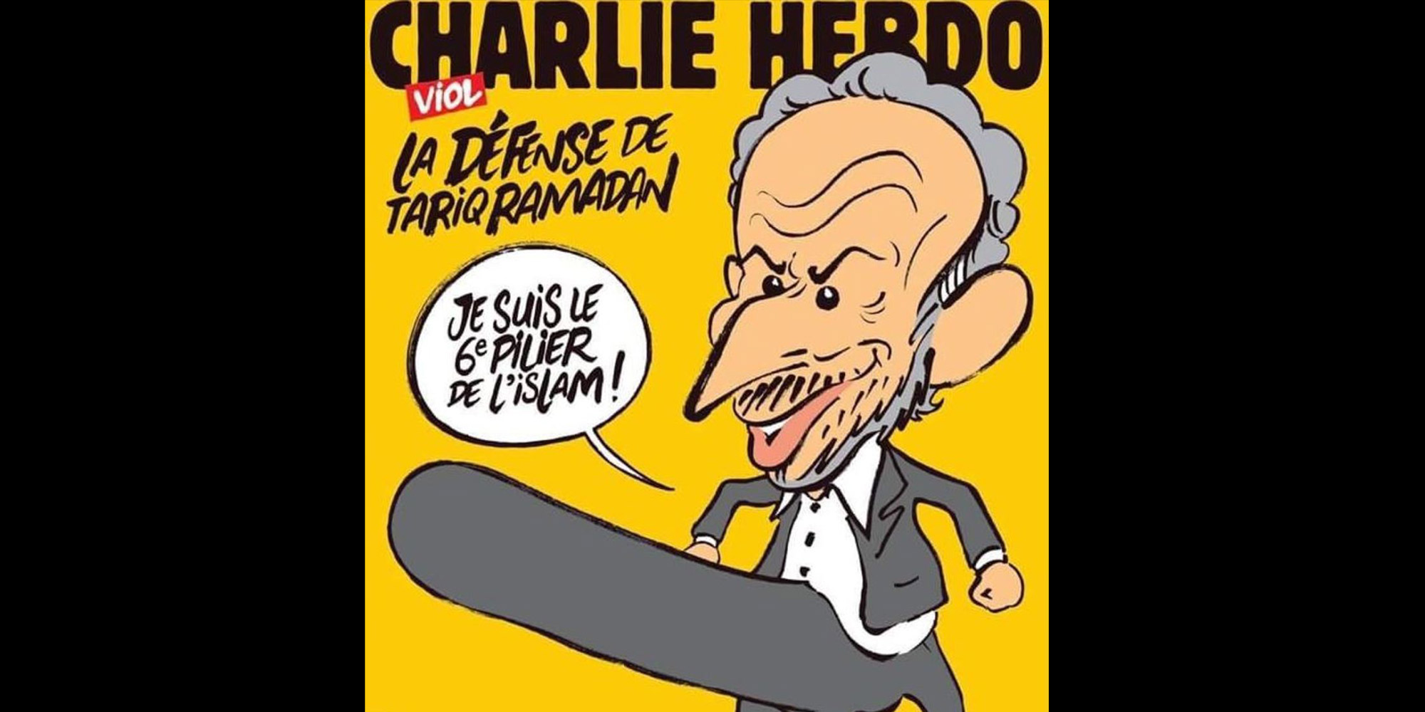 Tariq Ramadan En Une De Charlie Hebdo Enquete Ouverte Apres Des Menaces De Mort
