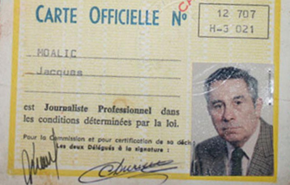 Avoir La Carte De Presse En 1950 C Etait Le Gros Lot