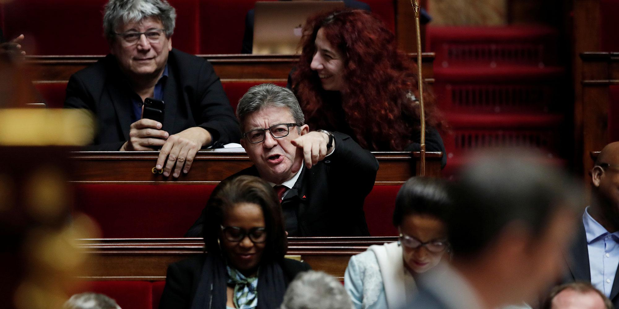 A l'Assemblée, les Insoumis, en guérilla contre la réforme des retraites, préparent déjà la prochaine bataille