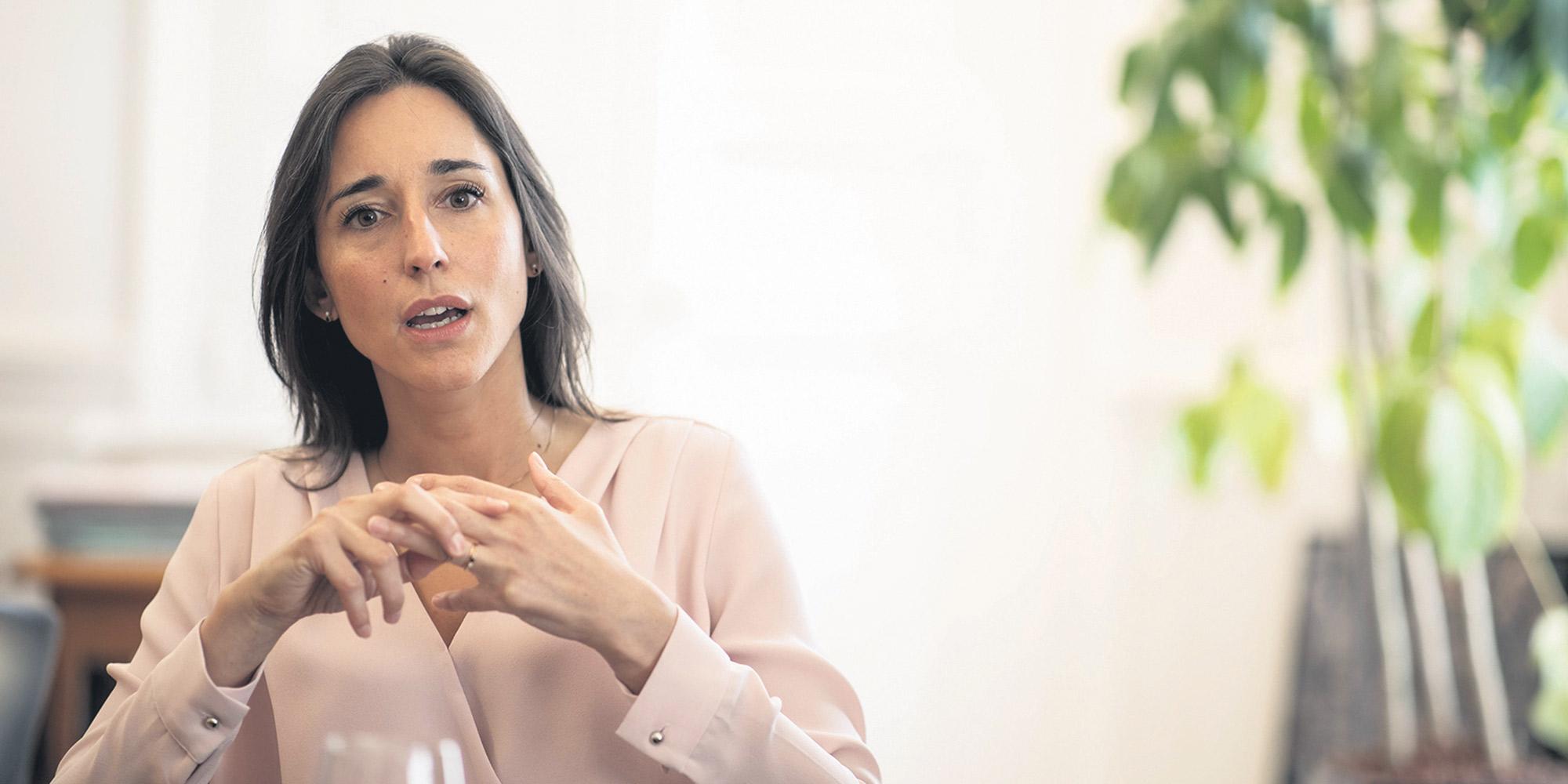 Brune Poirson La Ministre Qui A Trouve Sa Place