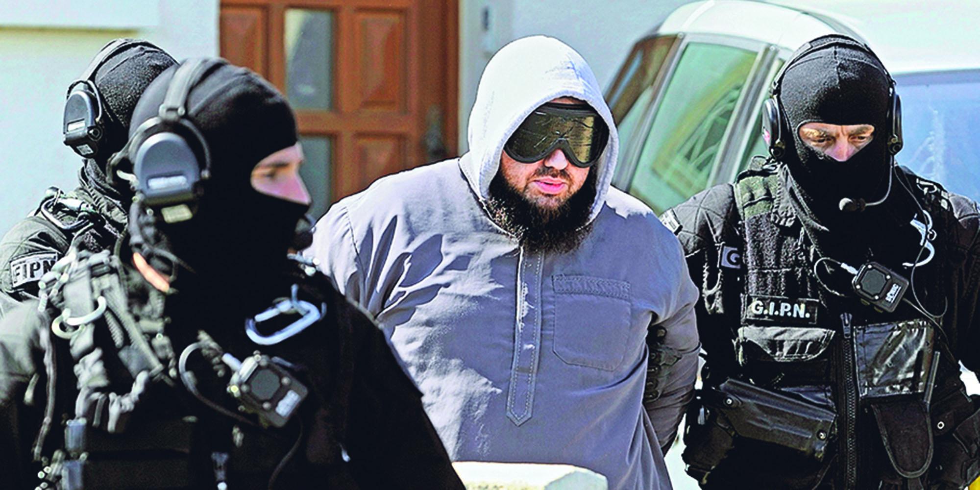 La libération annoncée de 148 djihadistes d'ici trois ans inquiète magistrats et policiers