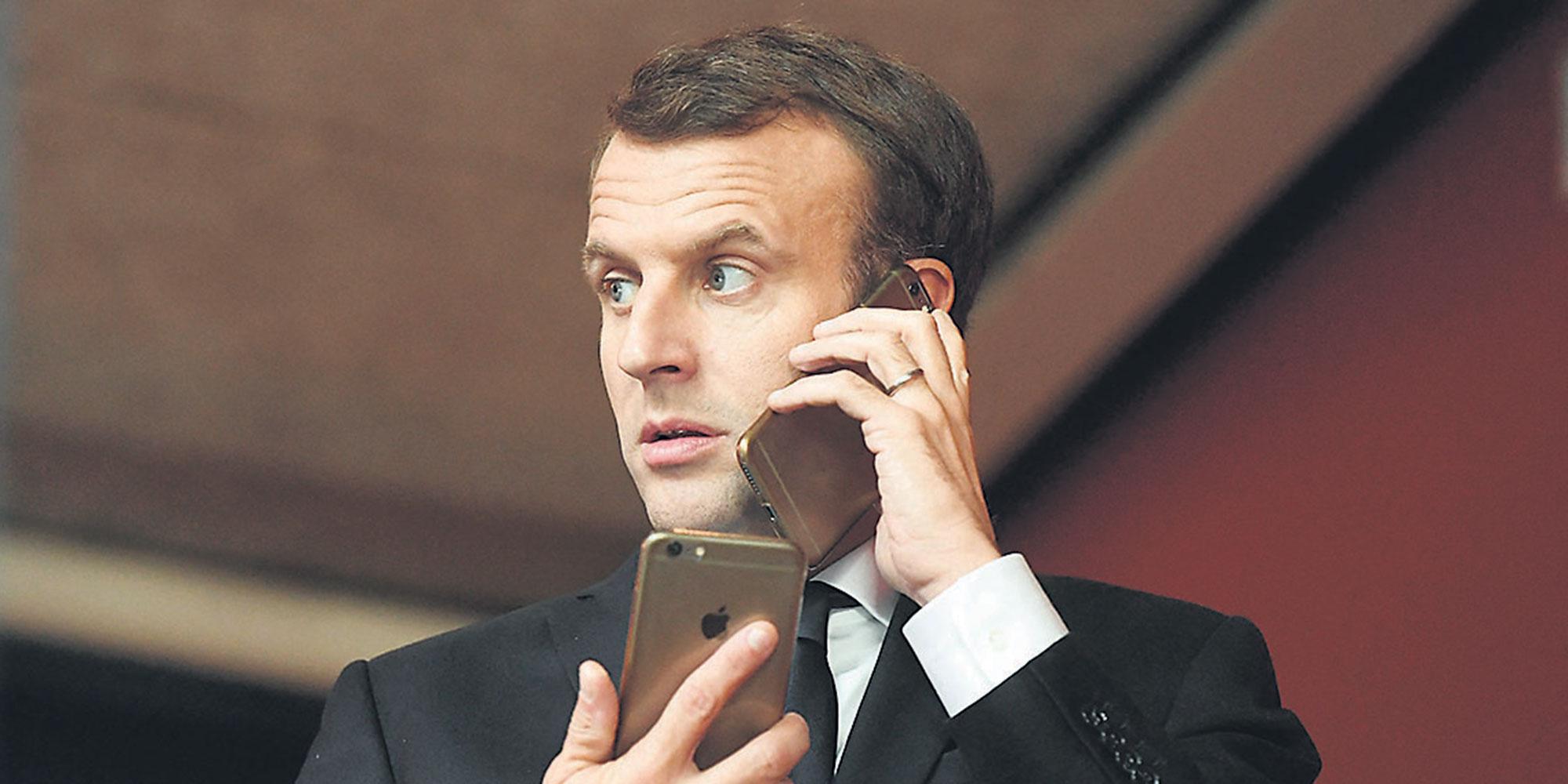 Le mail personnel de Macron a été capté par un hacker avec des millions d'autres comptes