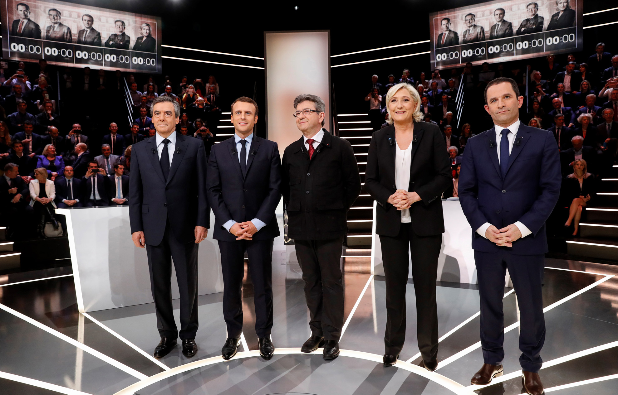 Le Pen, Macron, Fillon, Hamon, Mélenchon   ce qu il faut retenir de leur  prestation 37b56623a298