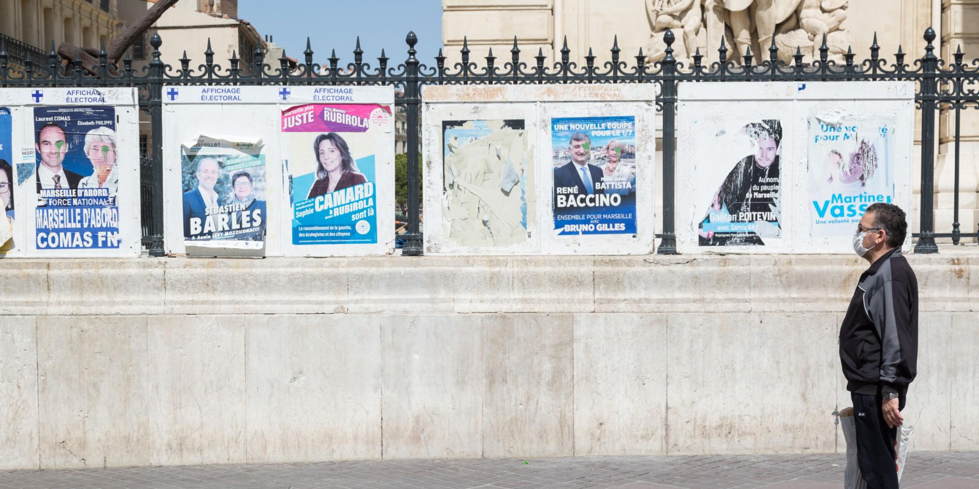 Municipales : à Marseille, une campagne déjà brûlante