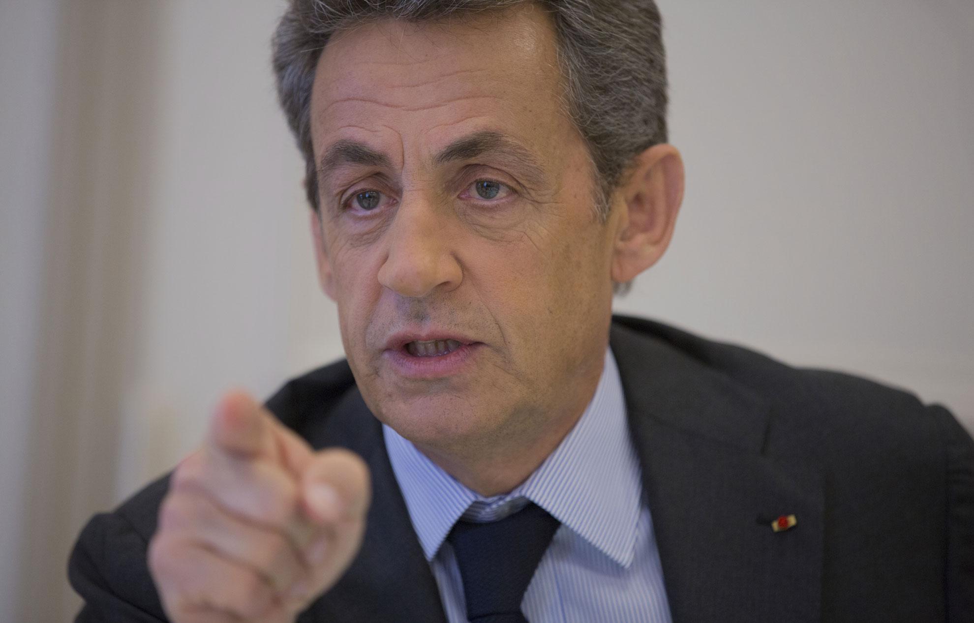 Sarkozy inaugure le siège européen de google au coeur de paris