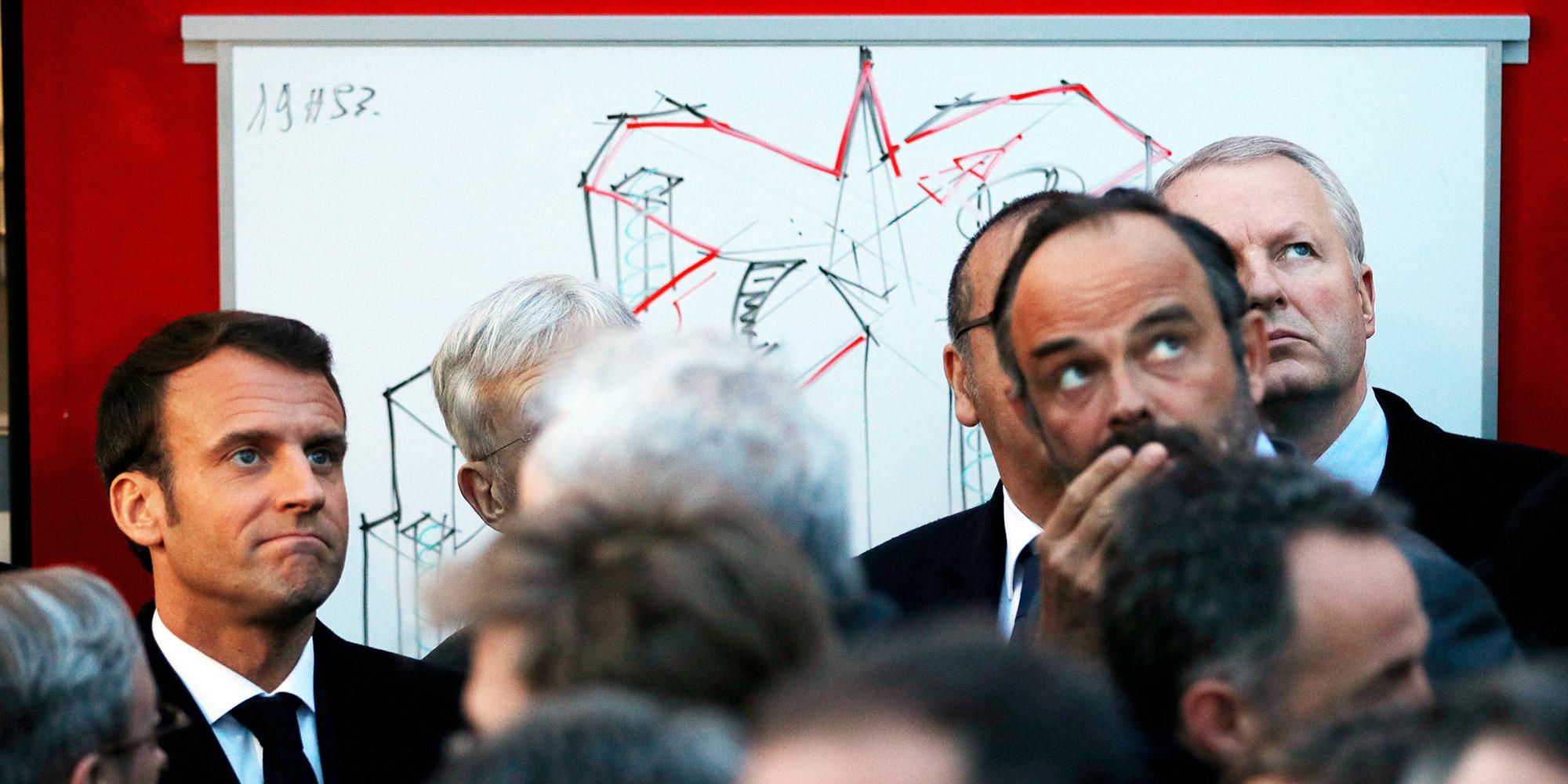 Notre-Dame de Paris : Macron en fait-il trop? - Le Journal du dimanche image