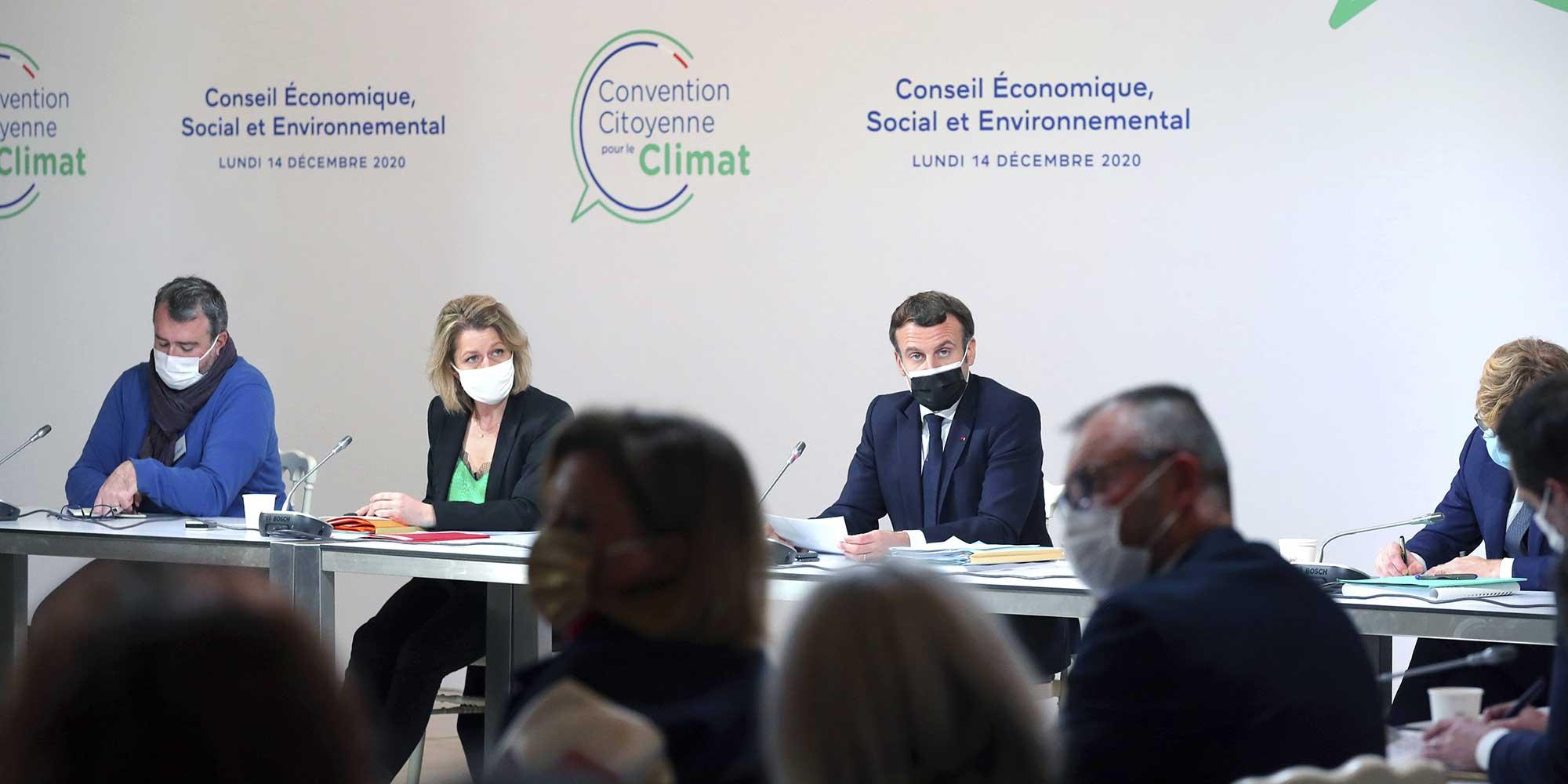 Pour leur dernière session, les citoyens de la convention climat vont noter Macron