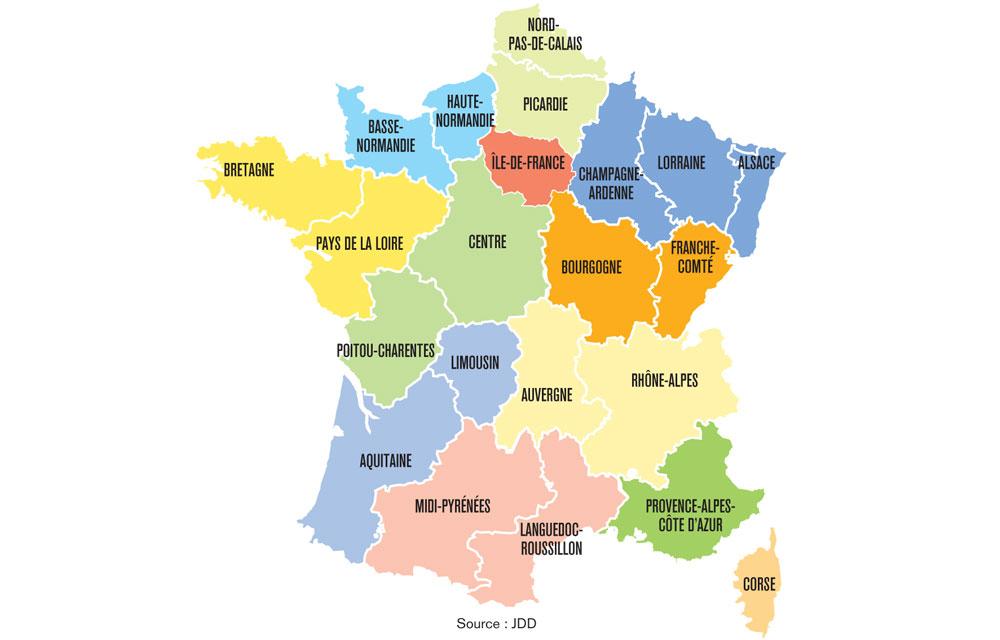 Hollande Veut Creer Douze Super Regions