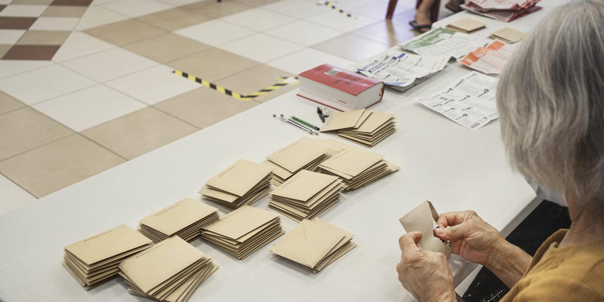 SONDAGE. Elections régionales : seuls 36% des Français envisagent d'aller voter au second tour