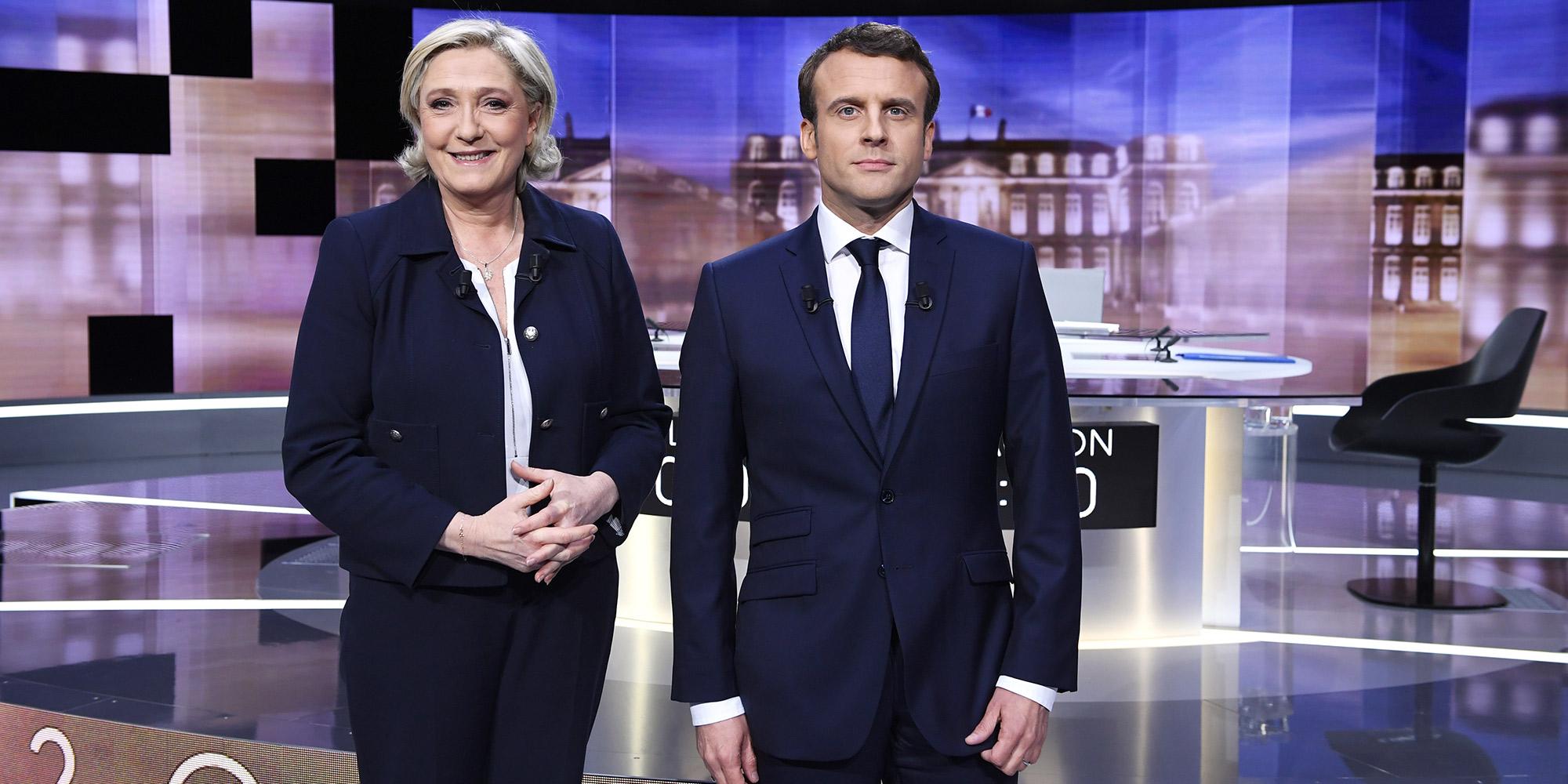 SONDAGE. Si on revotait aujourd'hui pour la présidentielle, Le Pen serait en tête, Macron tiendrait le choc