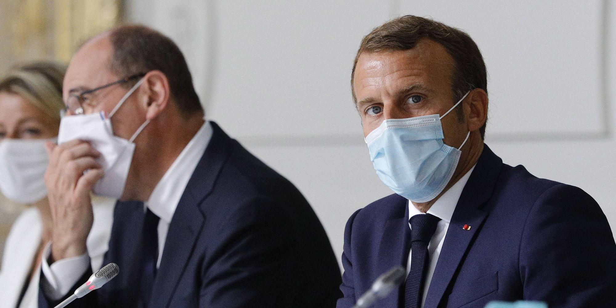 Sondages La Popularite De Castex Retombe Au Niveau De Celle De Macron