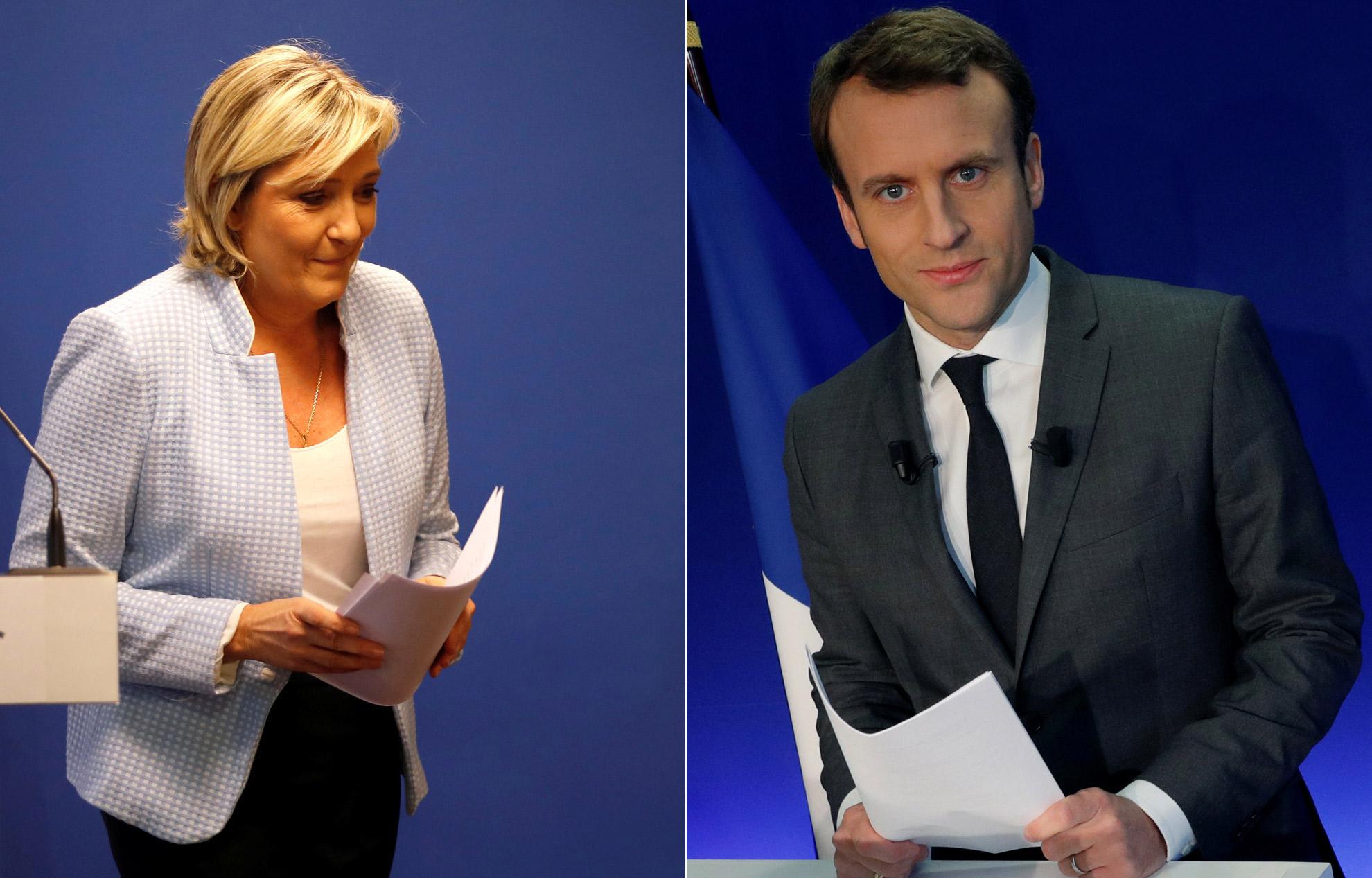 the latest 2b1a3 05828 VIDEO. Marine Le Pen : les dessous de sa com' anti-Macron