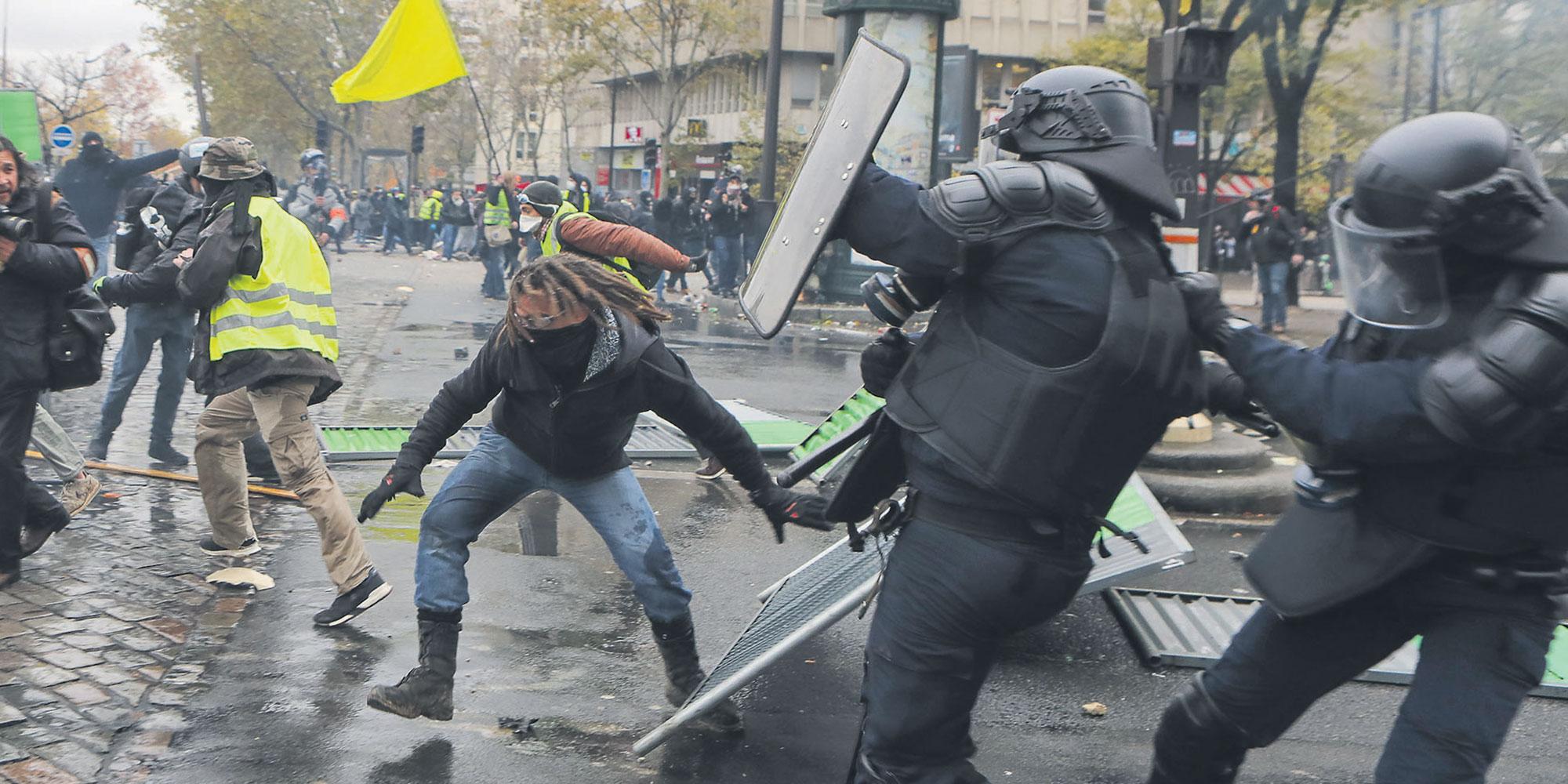 foto de Acte 53 des Gilets Jaunes : un violent anniversaire
