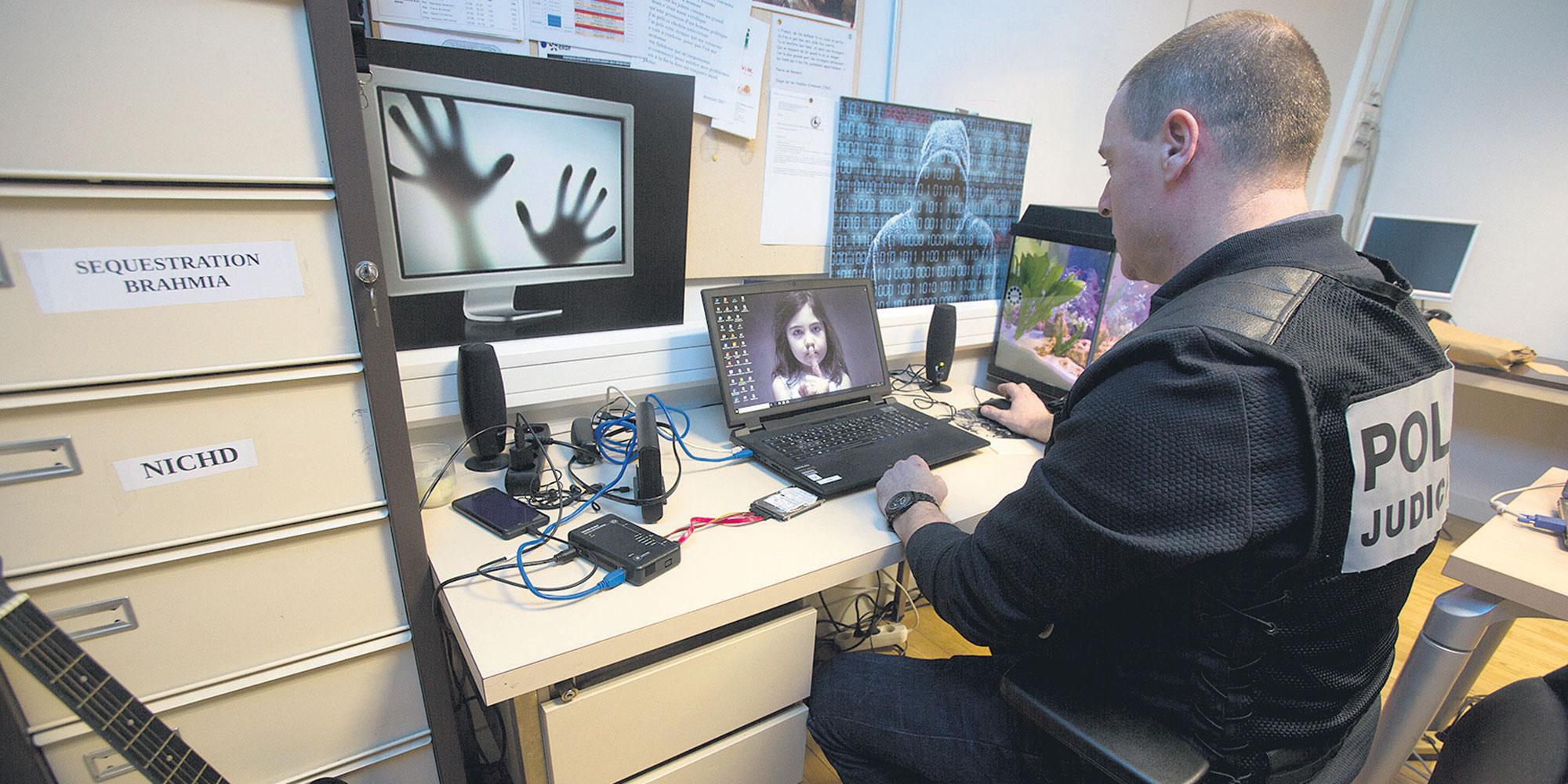 Comment la police lutte contre la cybercriminalité