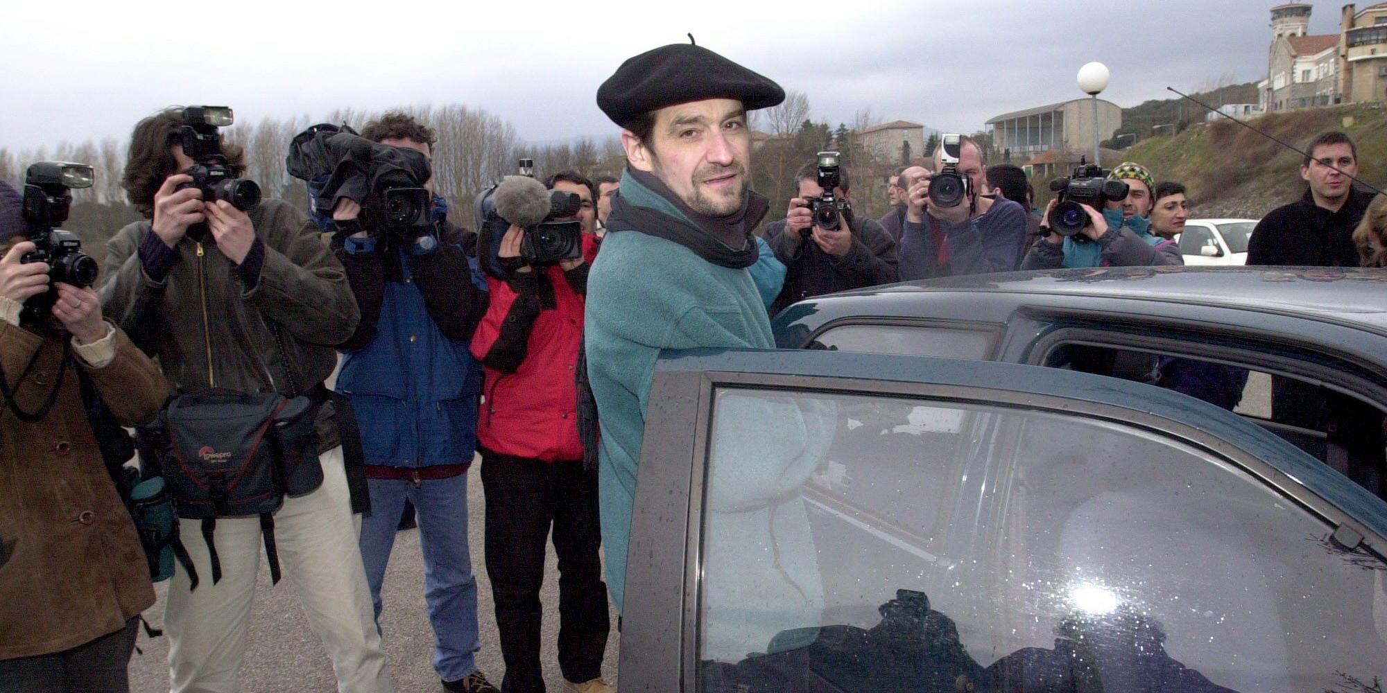 Le dirigeant historique d'ETA, Josu Urrutikoetxea, alias Jose Ternera, face à ses juges