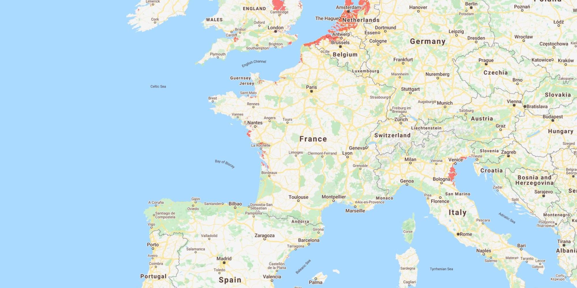 """Oui, """"la Camargue, le marais poitevin, Dunkerque et Bordeaux"""" pourraient être """"sous l'eau"""" en 2050, mais…"""