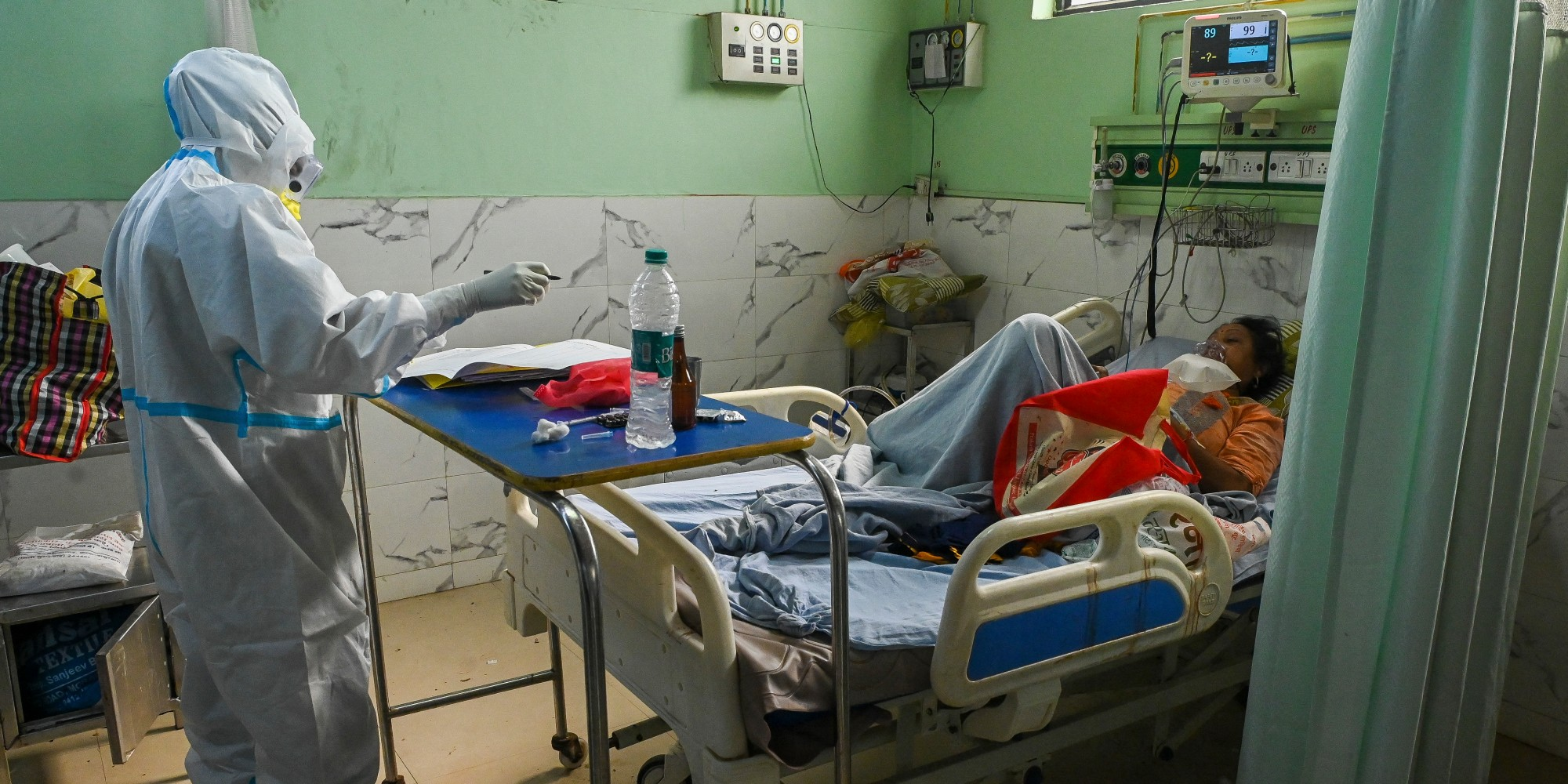 """Inde : ce que l'on sait sur le """"champignon noir"""" touchant les patients atteints du Covid-19"""