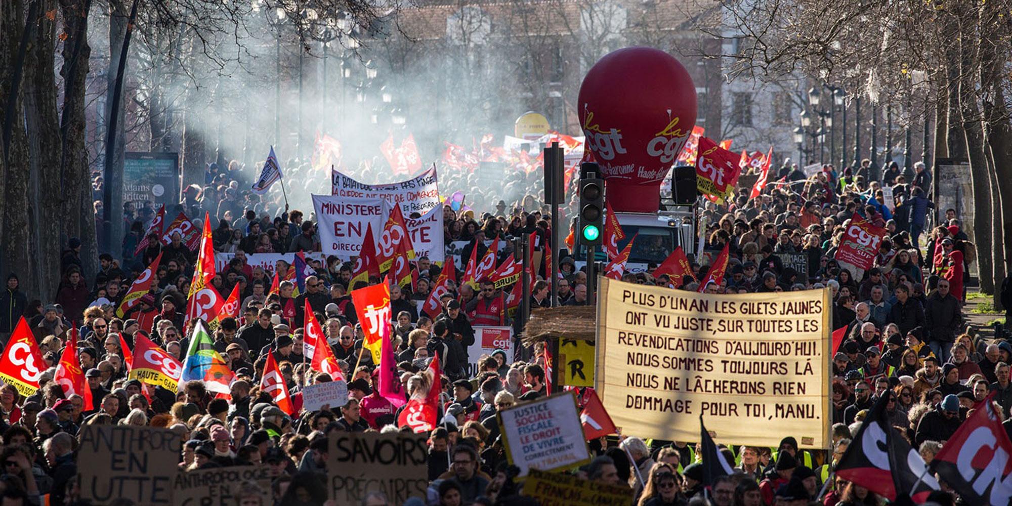 Retraites : jeudi, une mobilisation sur tous les fronts