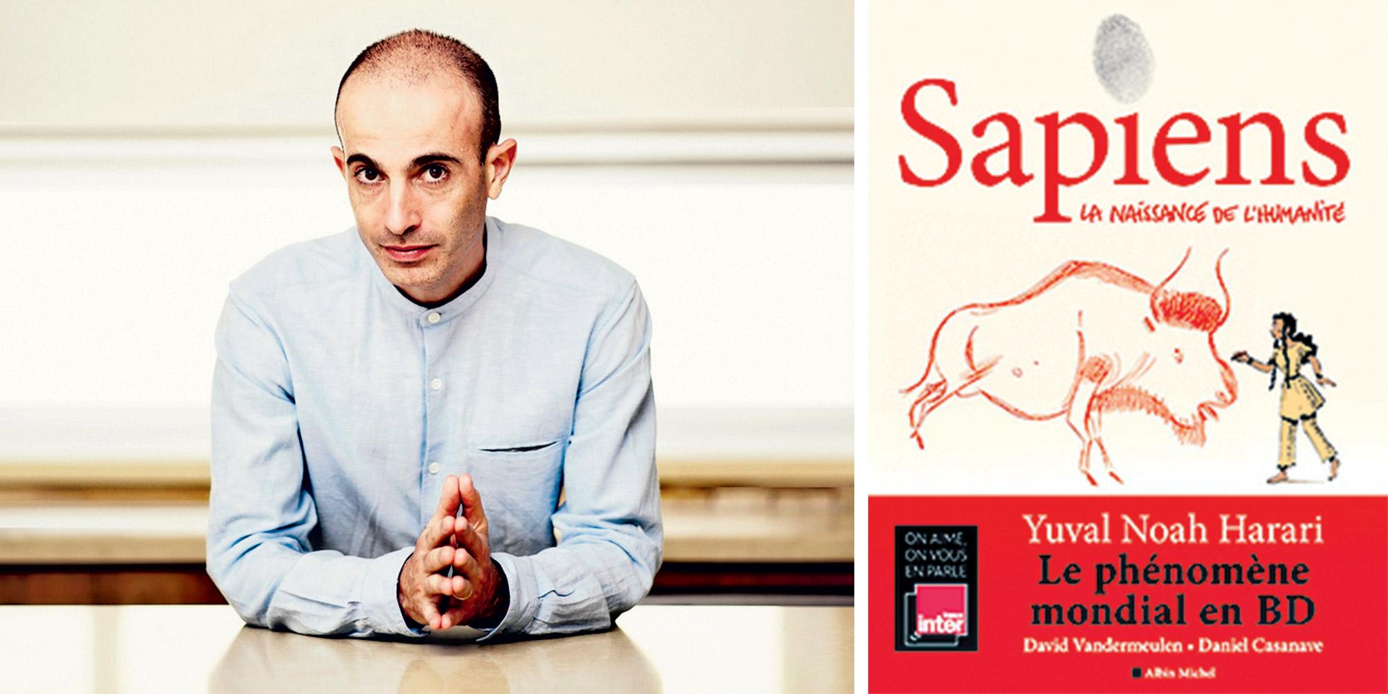 """Yuval Noah Harari, auteur de """"Sapiens"""" : """"On ne peut pas comprendre  l'humanité sans comprendre l'évolution"""""""