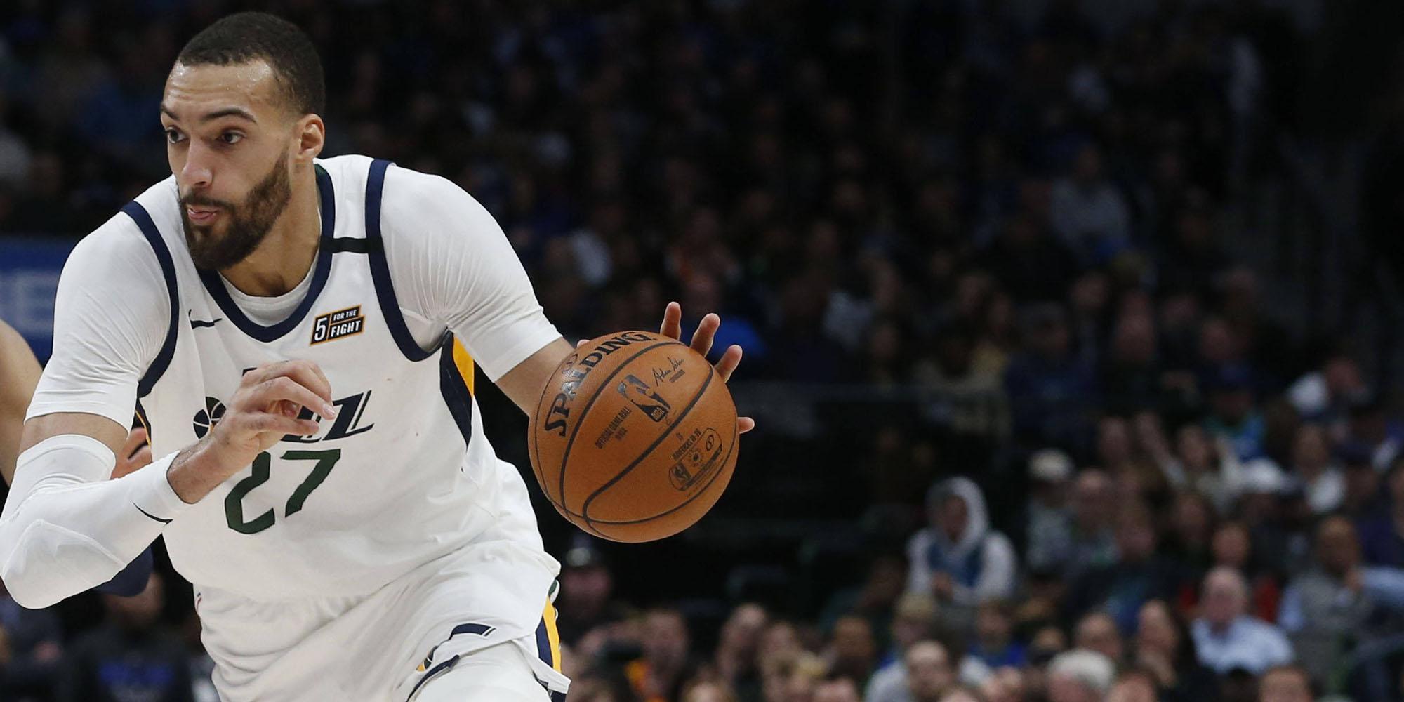"""Rudy Gobert, sélectionné pour le All-Star Game de la NBA : """"J'ai franchi un cap"""""""