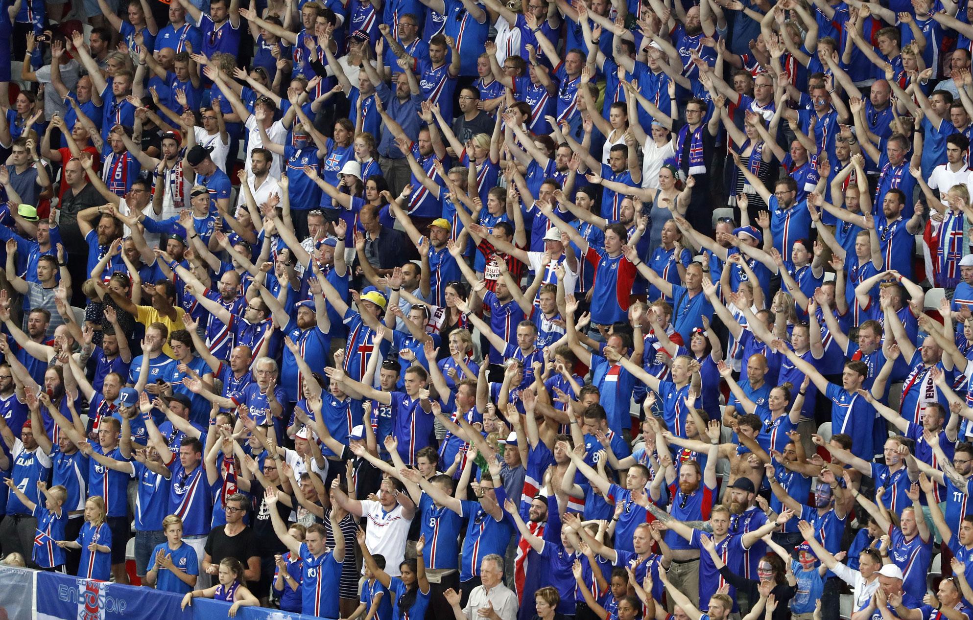 le clapping islandais