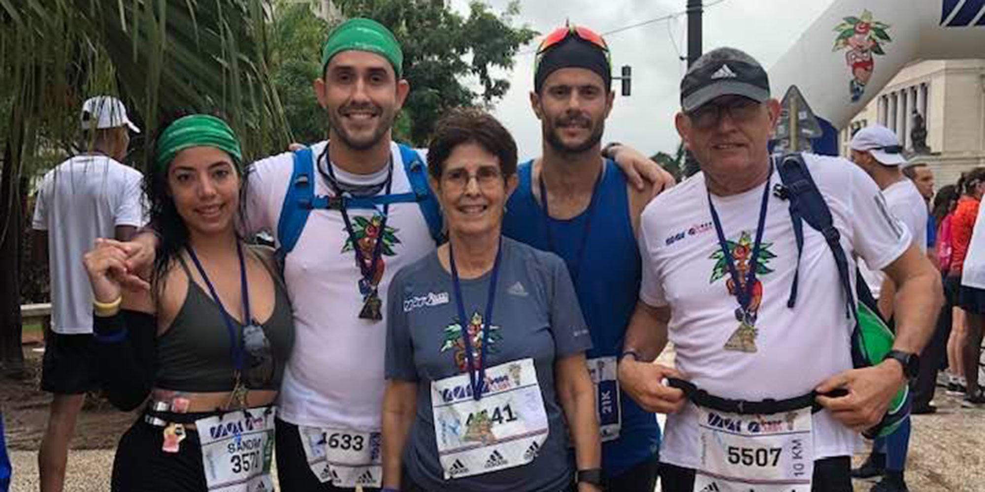 Ils viennent de Cuba, en famille, pour courir le marathon de Paris