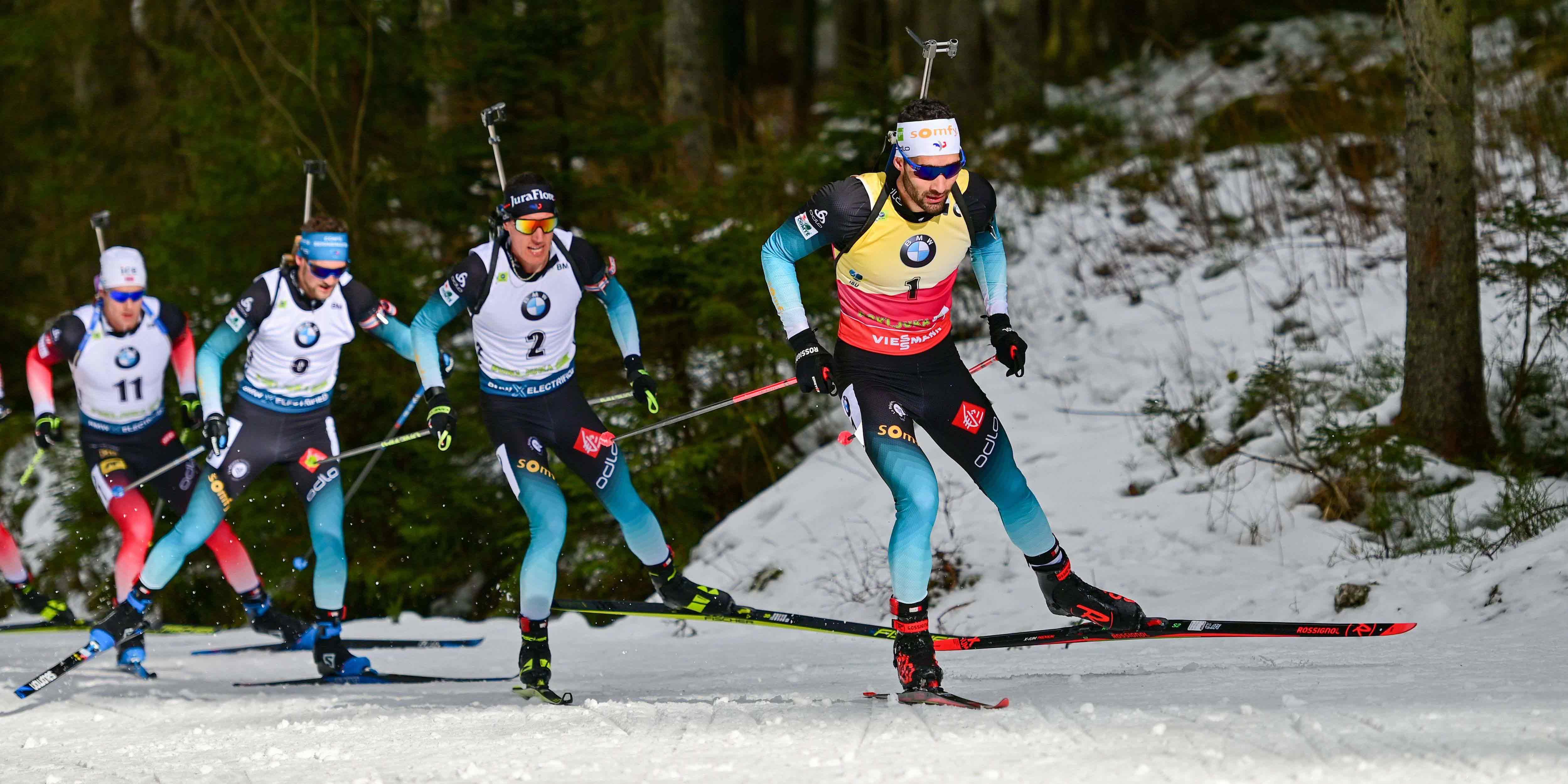 Mondiaux de Biathlon : les Bleus portés par Martin Fourcade se méfient de Johannes Boe