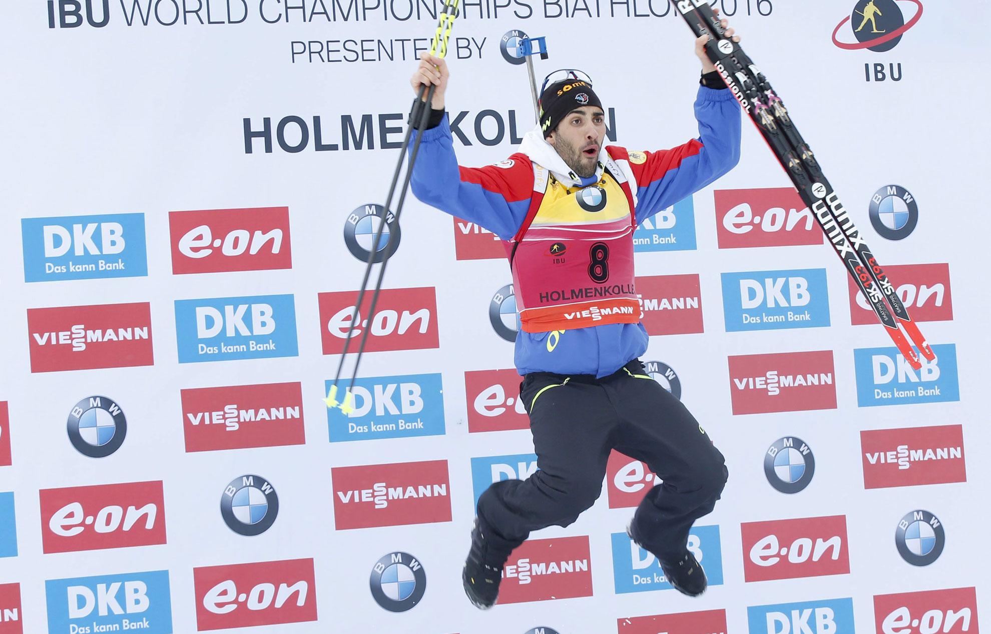 Biathlon   Martin Fourcade en course pour le grand chelem a3d8e10cad96